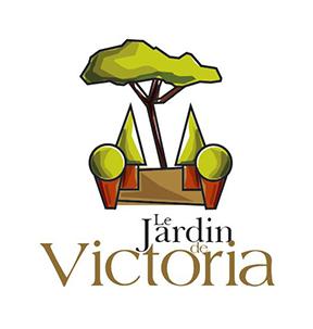 Le jardin de victoria cr ation et entretien de terrasses for Logo jardin